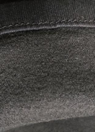 Джинсы американки с высокой посадкой плотные стрейчевые черные женские5