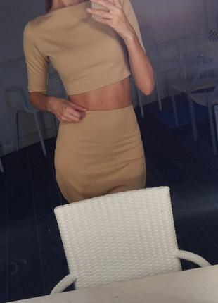 Топ-юбка