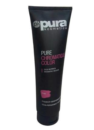 Розовая краска pura kosmetica