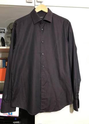 Рубашка joop бардовая