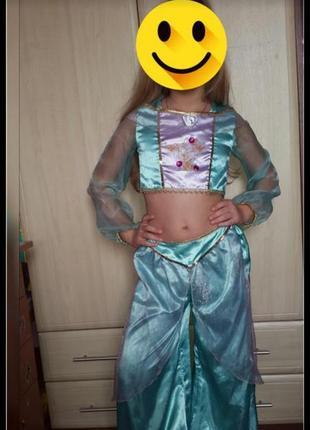 Карнавальный костюм disney princess на 7-8 лет
