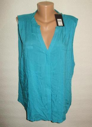 Распродажа!новая с биркой вискозная блуза штапель/батал/20/54-56 размера