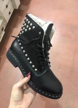 Зимние ботинки, зимние сапоги, итальянская обувь, nila&nila