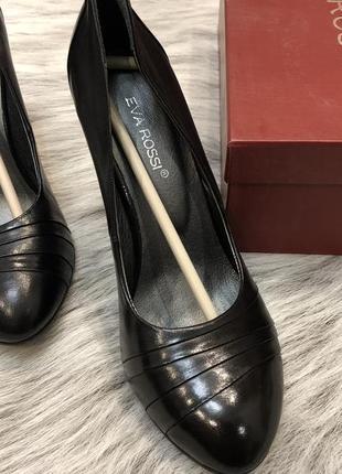 Туфли кожаные 38 идеальное сост