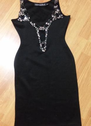 Праздничное платье boohoo