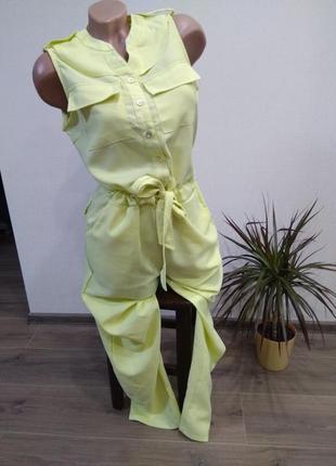 Комбинезон комбез ромпер брюки штаны размер л 12