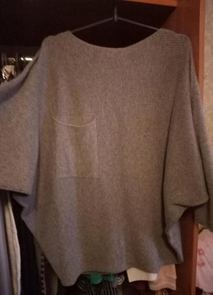 Серый свитерок от olko