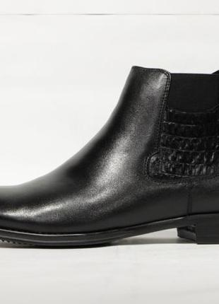 Кожаные зимние ботинки respect, оригинал