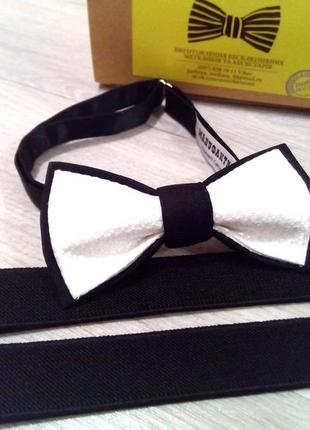 Галстук - бабочка от украинского бренда в широком ассортименте.