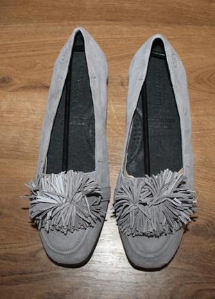 Кожаные балетки gerry weber, 38 размер