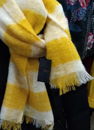 Шерстяной  шарф от maison scotch