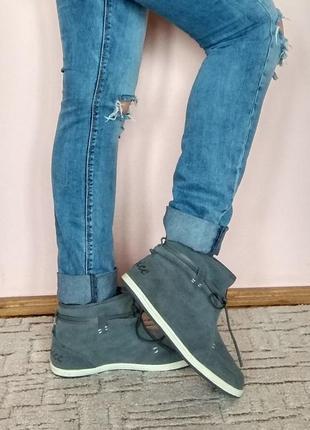 Мокасиновые ботинки слипоны,зима-осень, venice