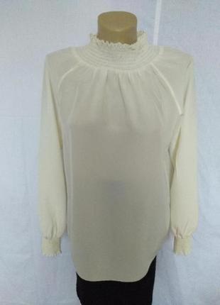 Роскошная блуза, люкс бренд,100%шелк