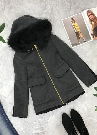 Оригинальное пальто с капюшоном  ov1851096 zara