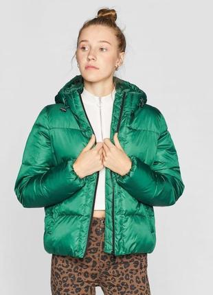 Обьемная куртка stradivarius размер xs