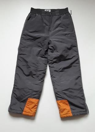 Лыжные  теплые штаны на рост 164