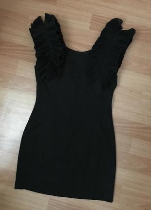 Идеальное чёрное платье miu miu