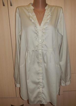 Блуза m&s mode p.48 рубашка