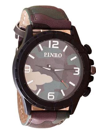 Распродажа крупные наручные часы с камуфляжной расцветкой pinbo