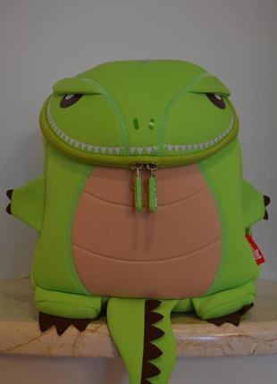 Салатовый рюкзак-дракончик nohoo