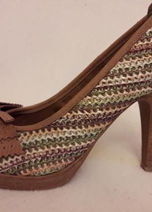 Оригинальные туфли фирмы tamaris ( германия) р. 39 стелька 25 см