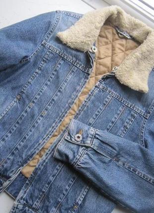 Куртка джинсова розмір s