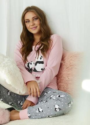 Пижама с пандами dobranochka последние размеры
