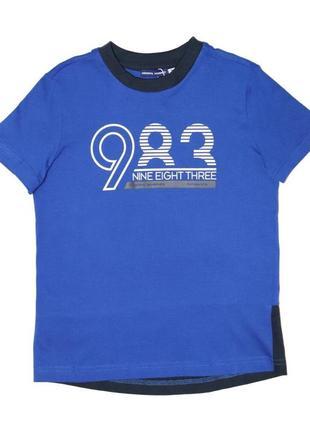 Новая синяя футболка для мальчика, original marines, 26391 фото