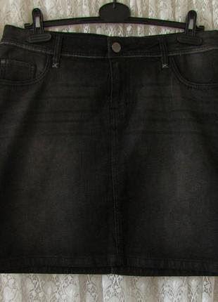 Юбка джинсовая прямая esmara р.44-46 №6848