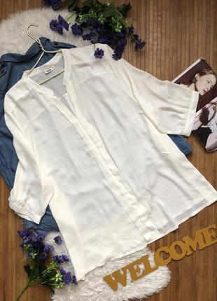 Нежная шифоновая блуза большого размера 541