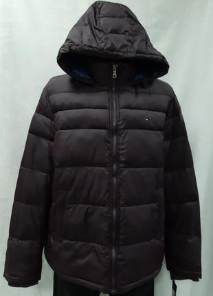 Куртка tommy hilfiger зимняя.только оригиналы марок3