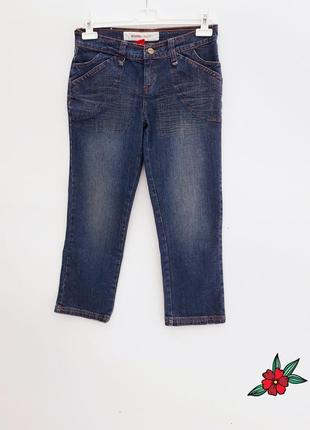 Джинсы укороченые капри бриджи укороченые брюки штаны