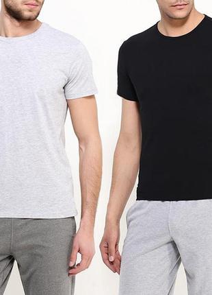 Комплектбазовых однотоных футболок 100% хлопок размеры испания