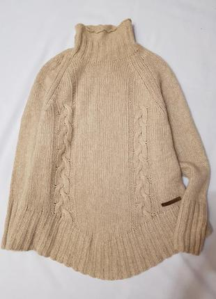 Holebrook швеция гольф водолазка свитер беби альпака s