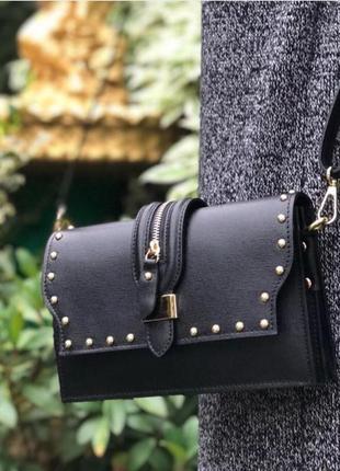Sale! стильная сумочка из сафьяновой кожи!