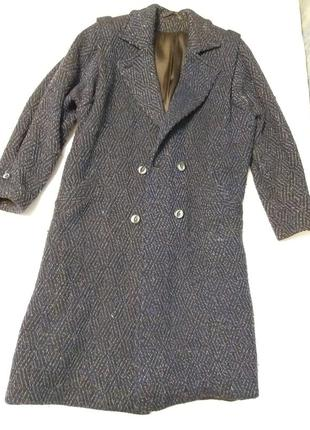 Женское осеннее теплое пальто