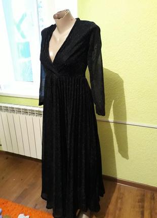 Шикарное нарядное платье в пол польша