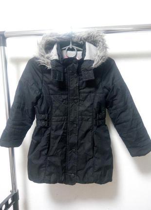 Куртка на девочку 8 лет 128 см осень-зима
