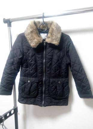 Куртка на девочку 12-13 лет 158 см осень