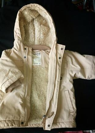 Зимняя курточка парка timberland