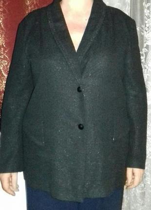 Пиджак с люрексом