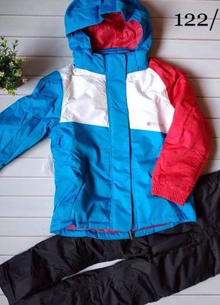 Лыжный термо-костюм, термо-куртка, термо-штаны crivit sports на девочку, р.122-128