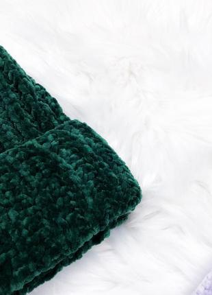 Найніжніші плюшеві шапулі \ нежные плюшевые велюровые бархатные шапки3