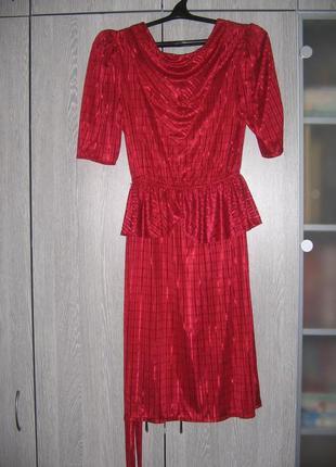Платье вишневое пр-ва сша