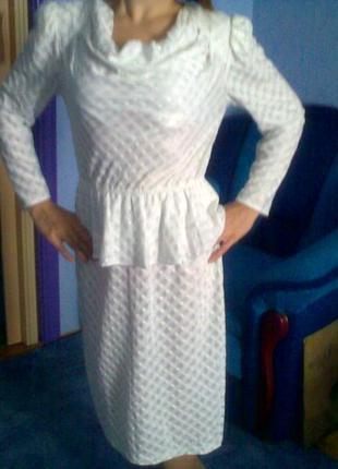 Платье белое пр-ва сша