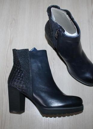 Демисезонные кожаные ботинки caprice, 37, 40 размеры