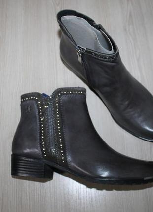 Кожаные ботинки caprice, 37.5, 39 размеры