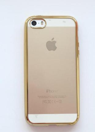 Силиконовый чехол iphone 5 5s se