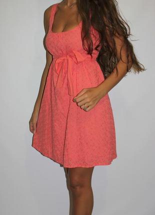 Платье с прошвой  -- огромный выбор платьев  --2