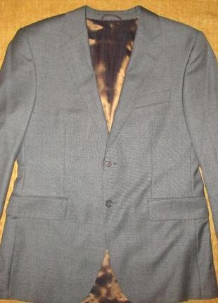 Новый мужской шерстяной костюм пиджак +брюки р. 50 германия
